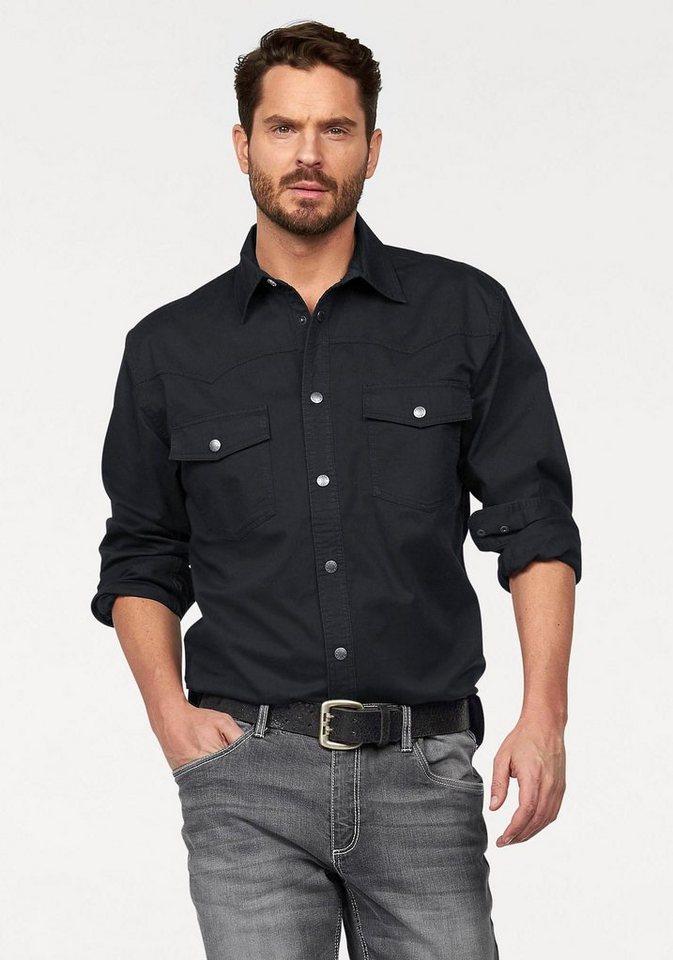 Arizona Hemd in schwarz
