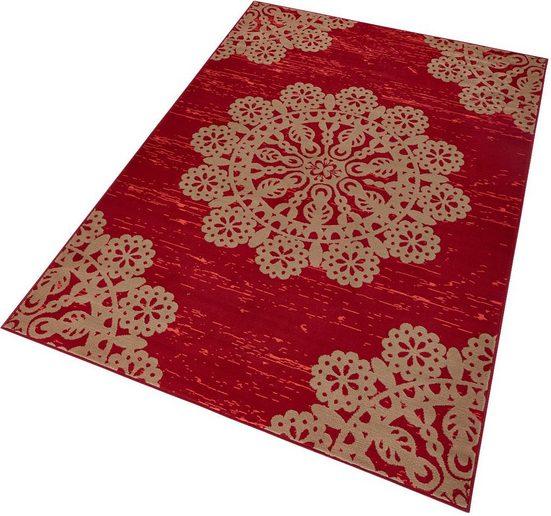 teppich lace hanse home rechteckig h he 9 mm kurzflor ringsum gekettelt online kaufen otto
