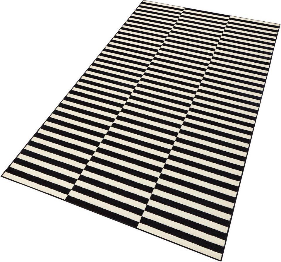 Läufer »Panel«, Hanse Home, rechteckig, Höhe 9 mm in schwarz-weiß
