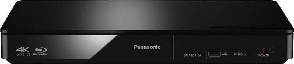 panasonic dmp bdt184 185 3d blu ray player 3d f hig 4k. Black Bedroom Furniture Sets. Home Design Ideas