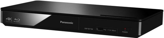 Panasonic »DMP-BDT184 / DMP-BDT185« Blu-ray-Player (LAN (Ethernet), 4K Upscaling, Schnellstart-Modus)
