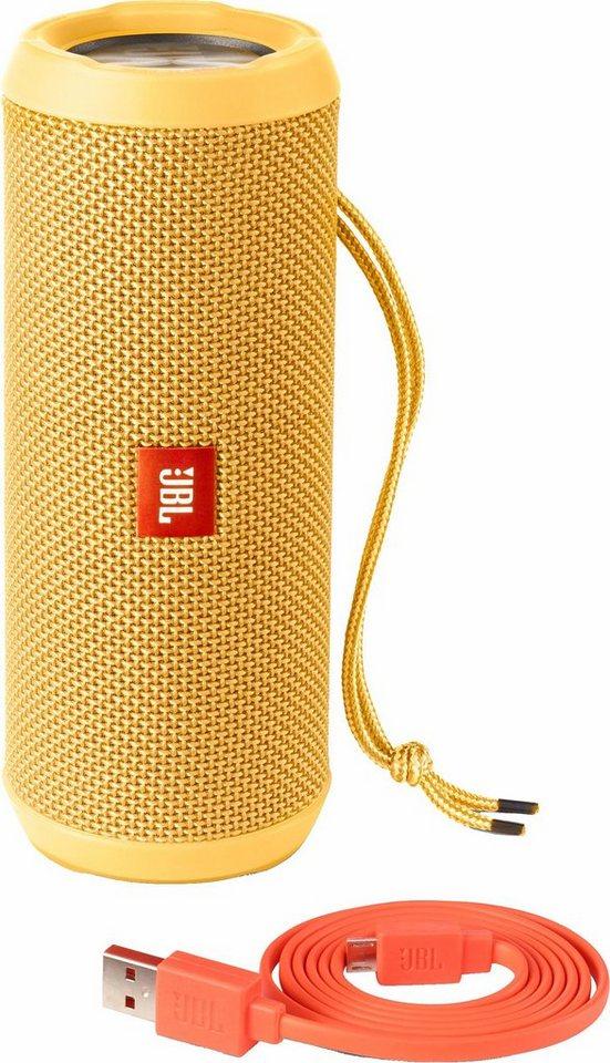 JBL Flip 3 Bluetooth-Lautsprecher in gelb