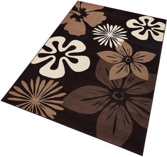 Teppich »Flora«, HANSE Home, rechteckig, Höhe 9 mm, Kurzflor, ringsum gekettelt