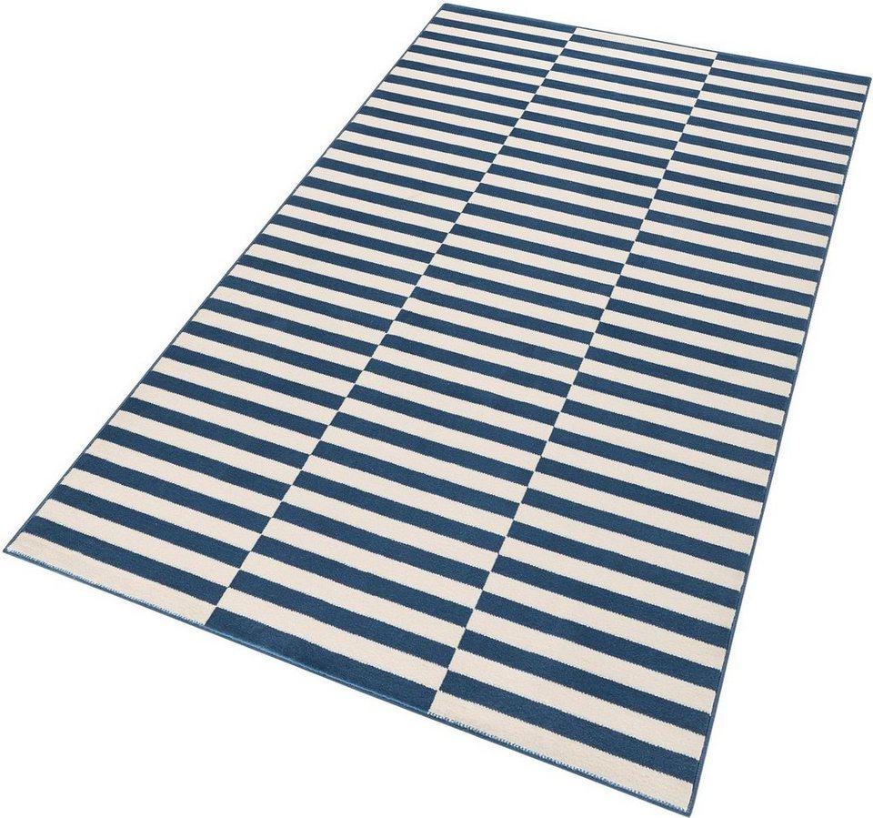 Teppich »Panel«, Hanse Home, rechteckig, Höhe 9 mm in blau