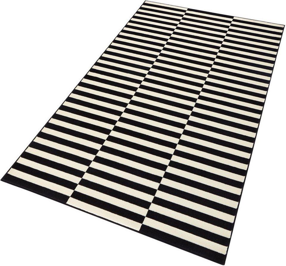 Teppich, Hanse Home, »Panel«, gewebt in Schwarzcreme