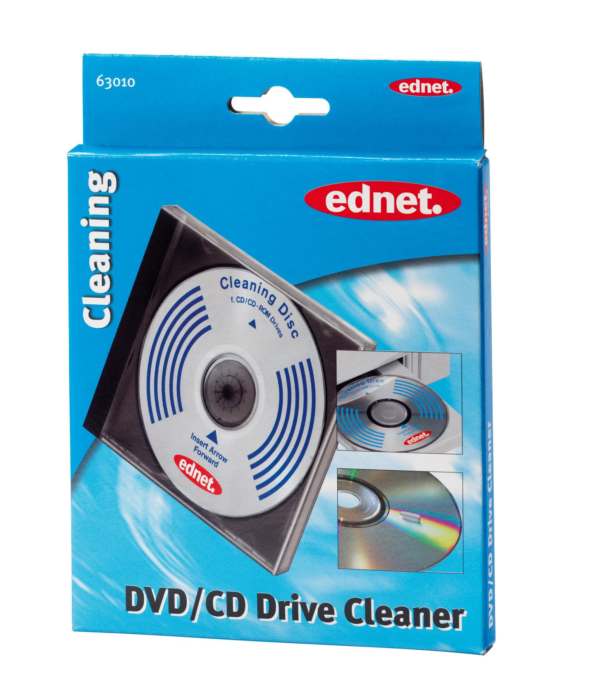 Ednet Reinigungstücher »Reinigungs-CD«
