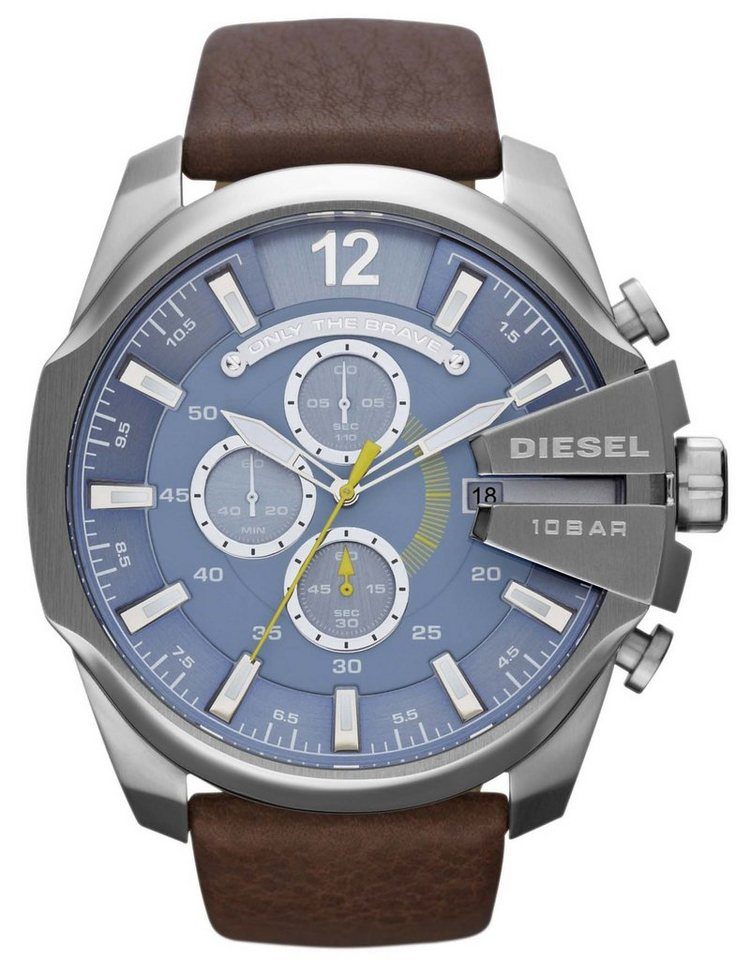 Diesel Chronograph »MEGA CHIEF, DZ4281« in braun