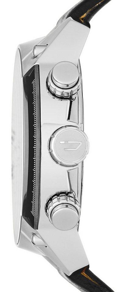Herren Diesel Chronograph OVERFLOW, DZ4341 schwarz | 04053858414389