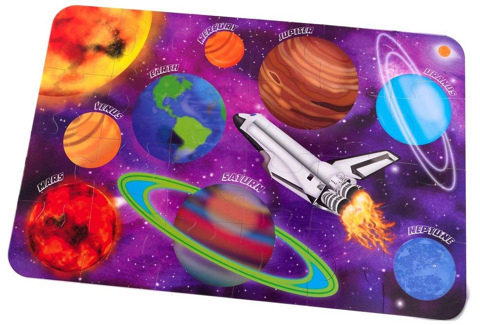 KidKraft® Bodenpuzzle 24 Teile, »Weltraum«