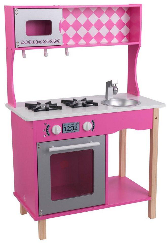 Kidkraft spielküche aus holz sweet sorbet küche