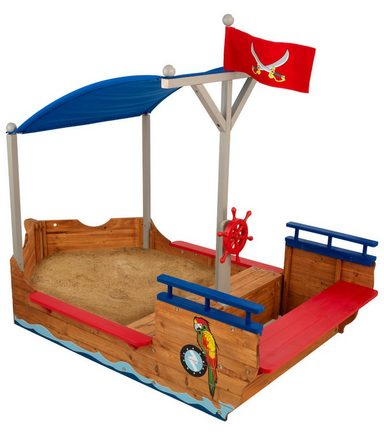 kidkraft sandkasten piratenschiff kaufen otto. Black Bedroom Furniture Sets. Home Design Ideas