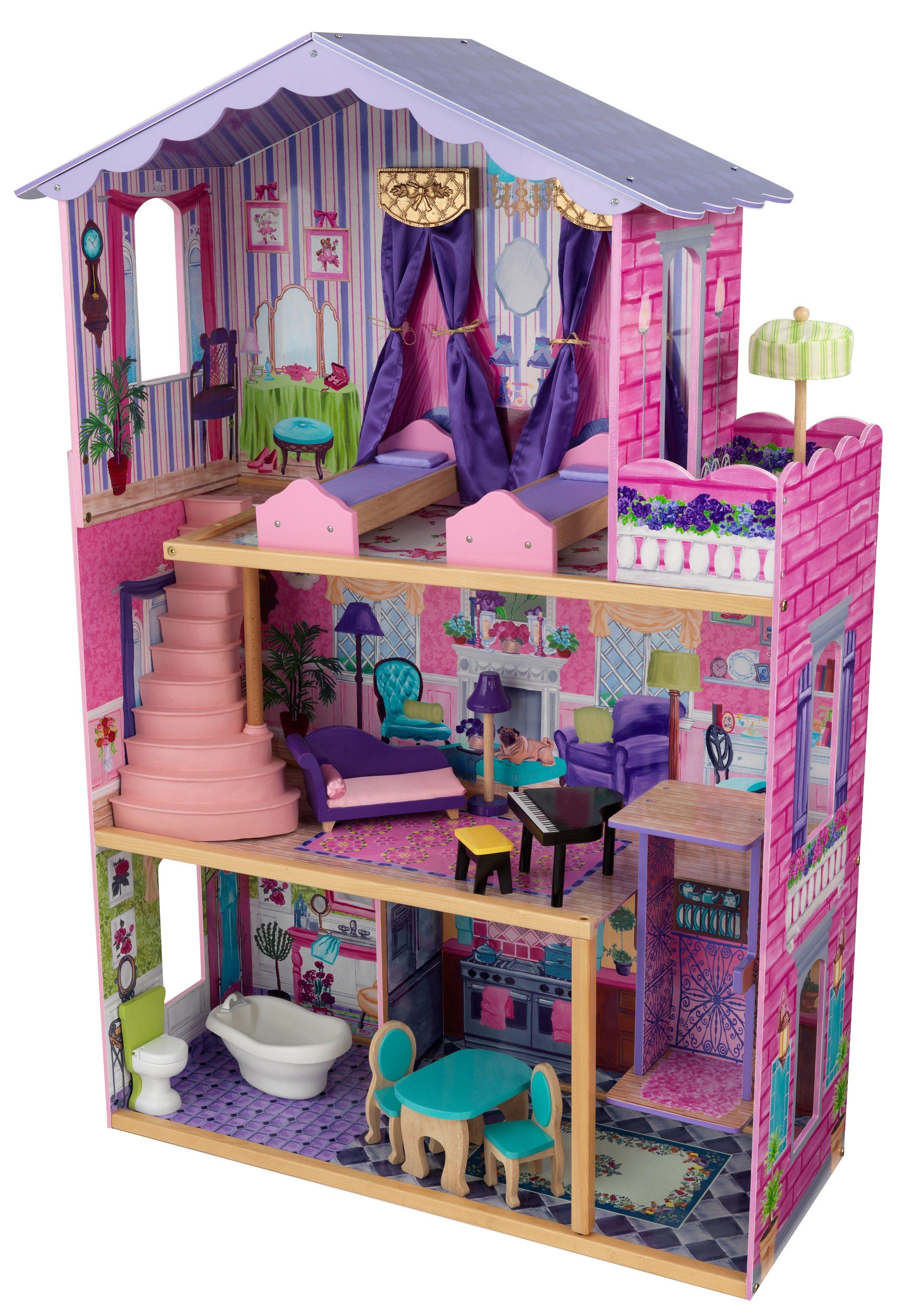 KidKraft® Puppenhaus inkl. Möbel, »Meine Traumvilla«