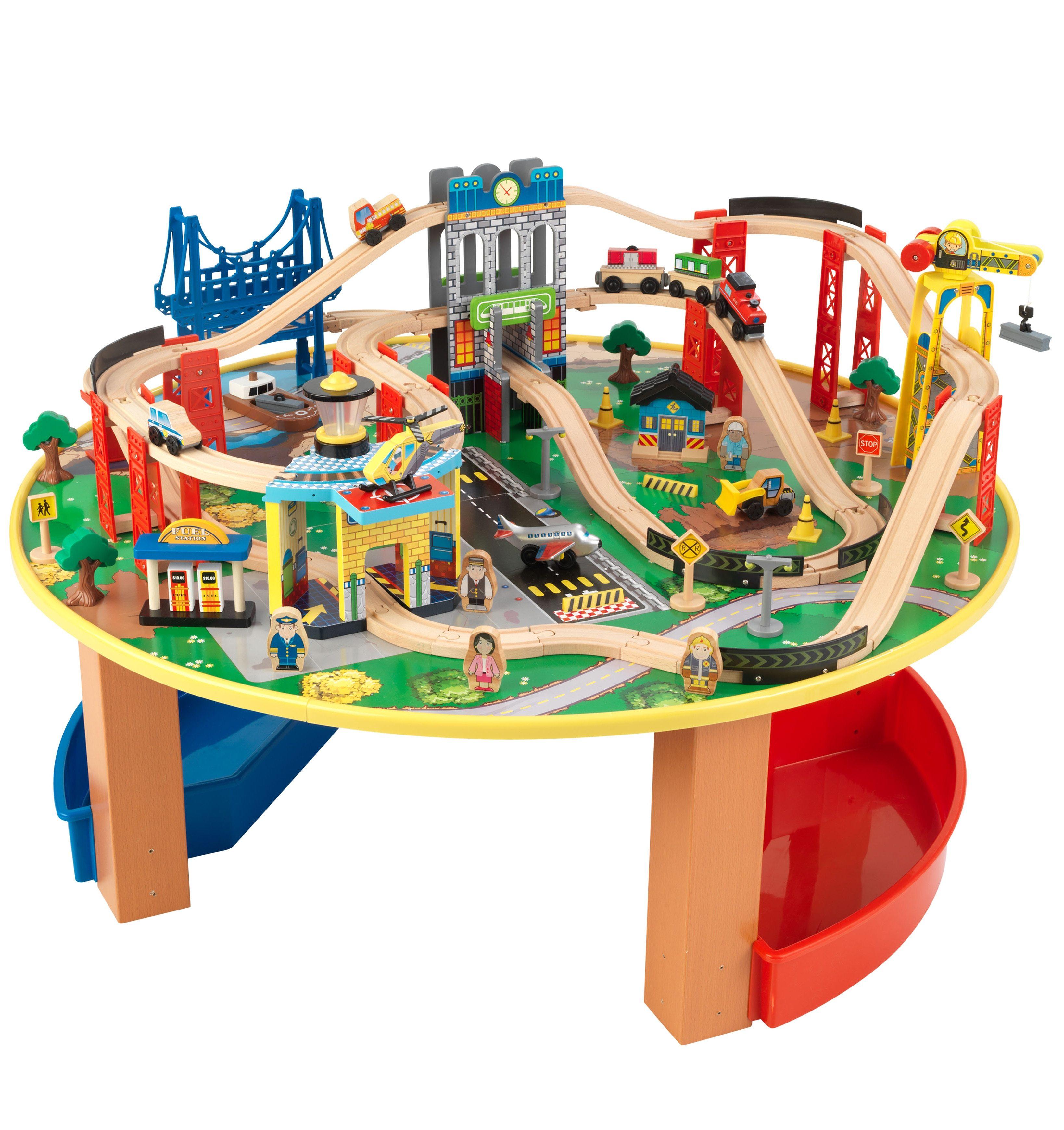 KidKraft® Eisenbahnset, »Eisenbahnset City Explorer«