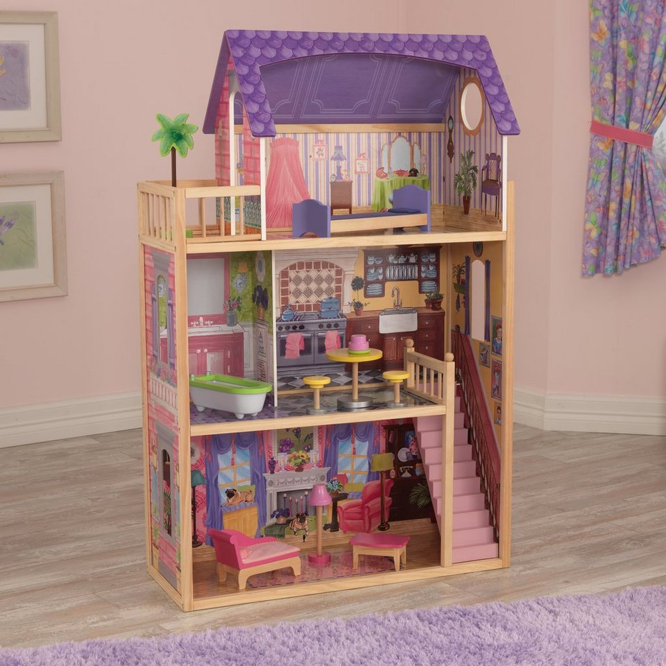KidKraft® Puppenhaus inkl. Möbel, »Kayla«