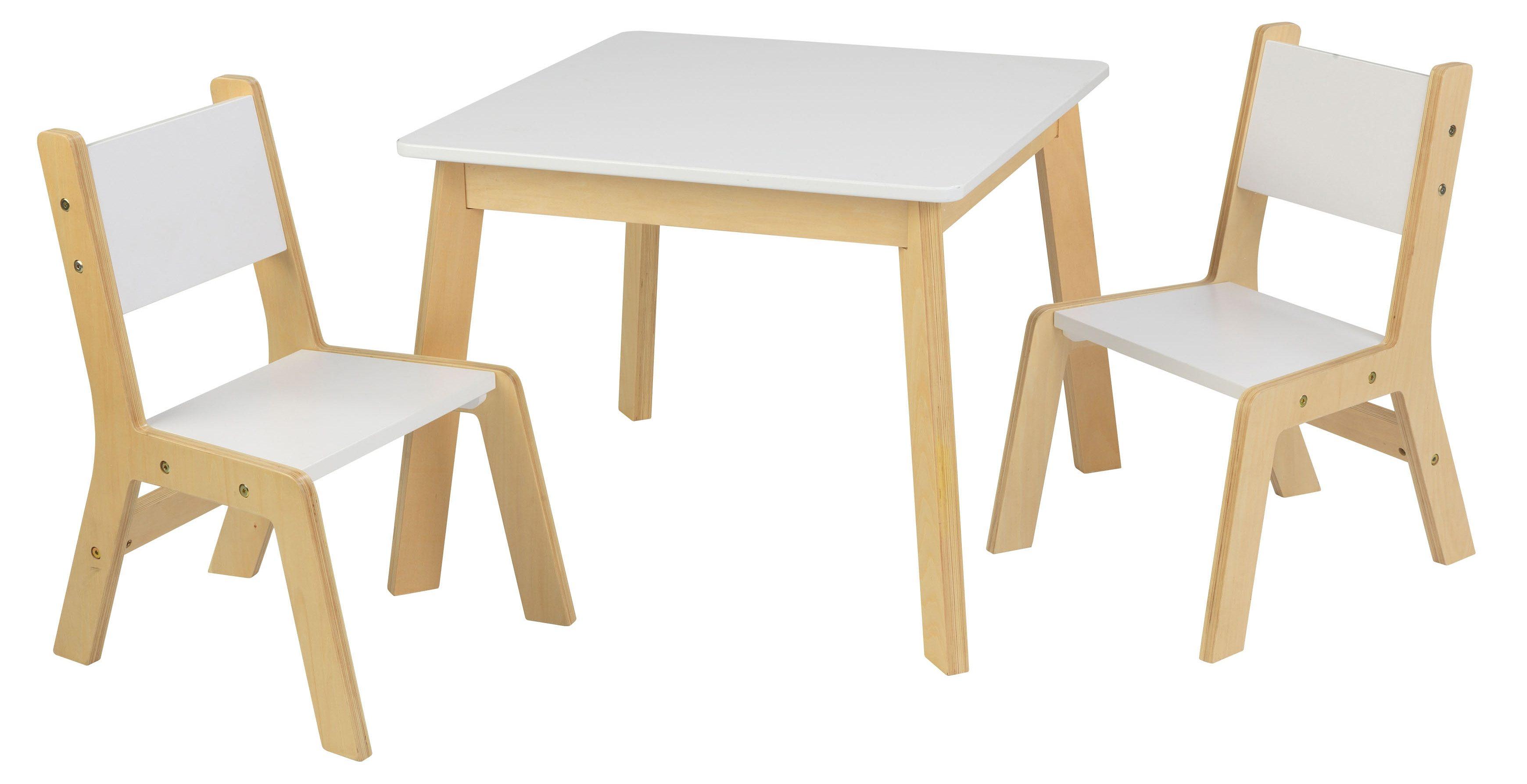 KidKraft® Kindermöbel, »Moderner Tisch mit 2 Stühlen«