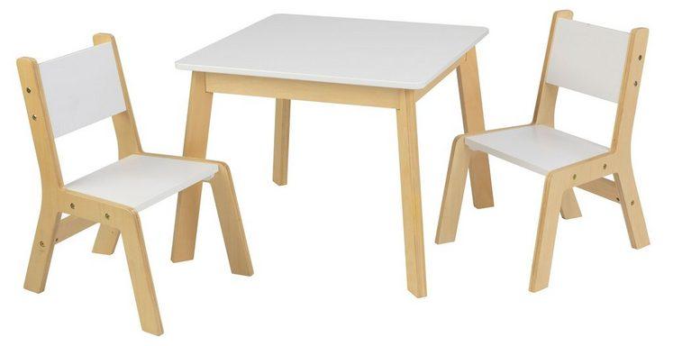 KidKraft Kindermöbel Moderner Tisch Mit 2 Stühlen