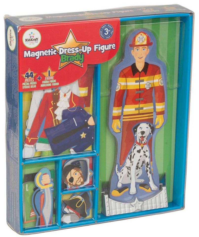 KidKraft® Magnetpuppen Set, »Brady« (45tlg.)