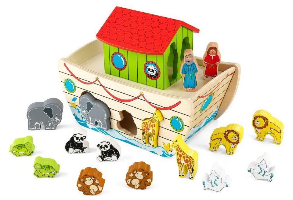 KidKraft® Steckspiel aus Holz, »Arche Noah«