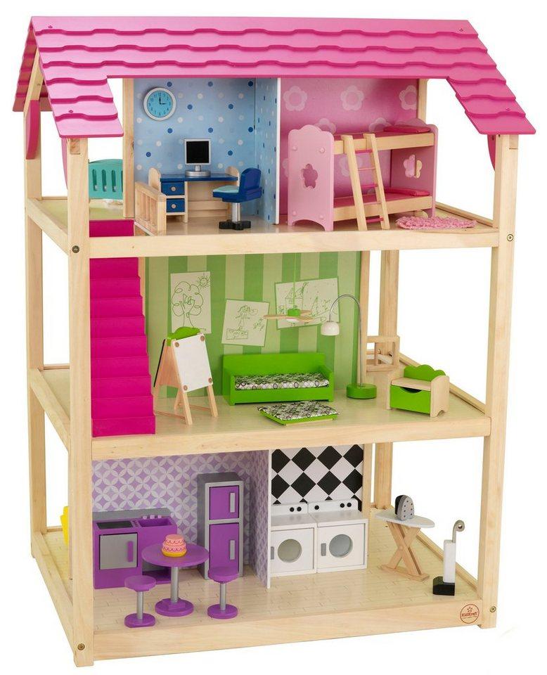kidkraft puppenhaus inkl m bel so chic kaufen otto. Black Bedroom Furniture Sets. Home Design Ideas