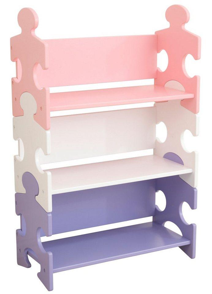 kidkraft b cherregal puzzle pastell kaufen otto. Black Bedroom Furniture Sets. Home Design Ideas