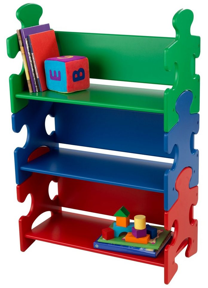 KidKraft® Bücherregal, »Puzzle - Primary«