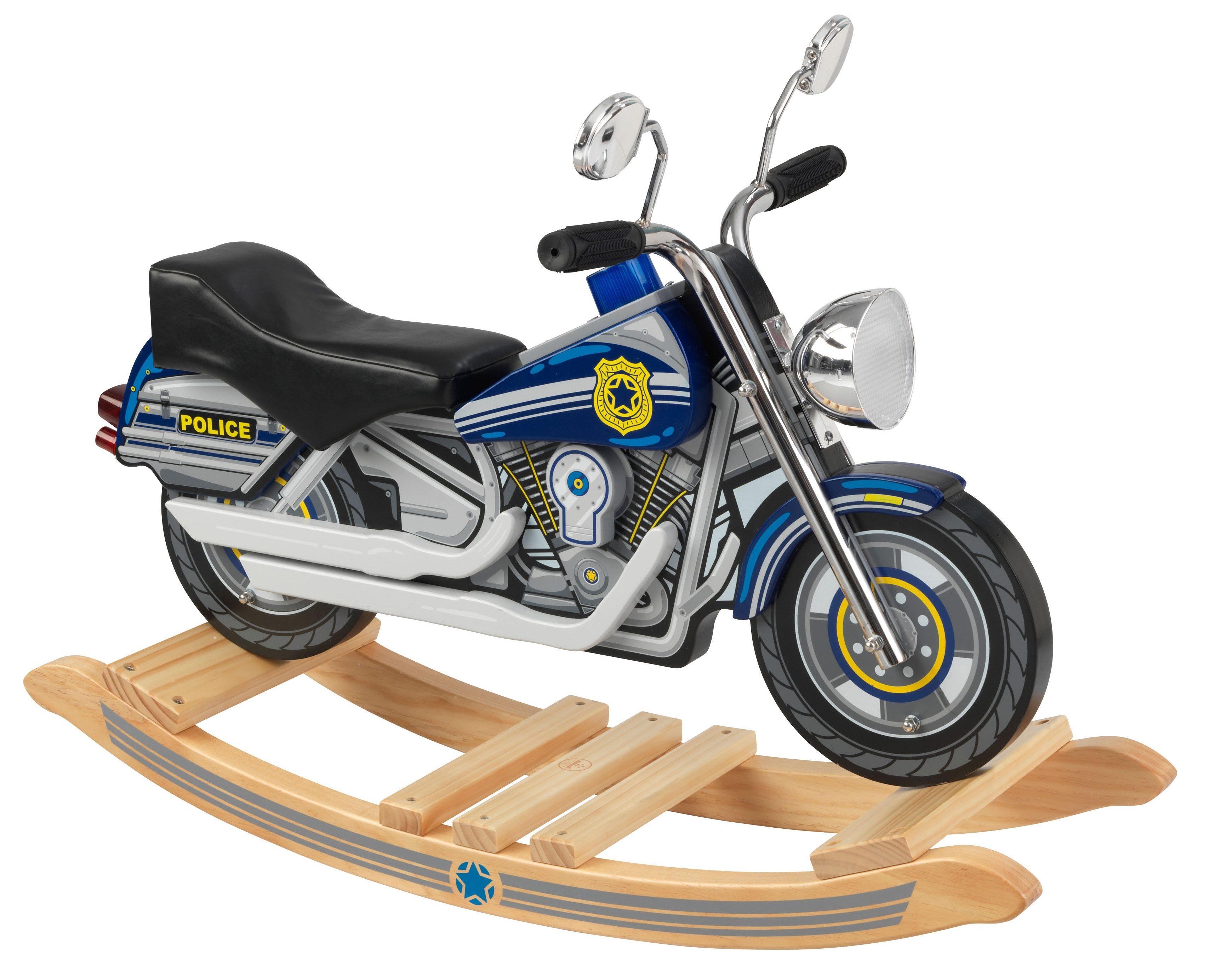 KidKraft® Schaukelmotorrad mit Sound, »Polizei«