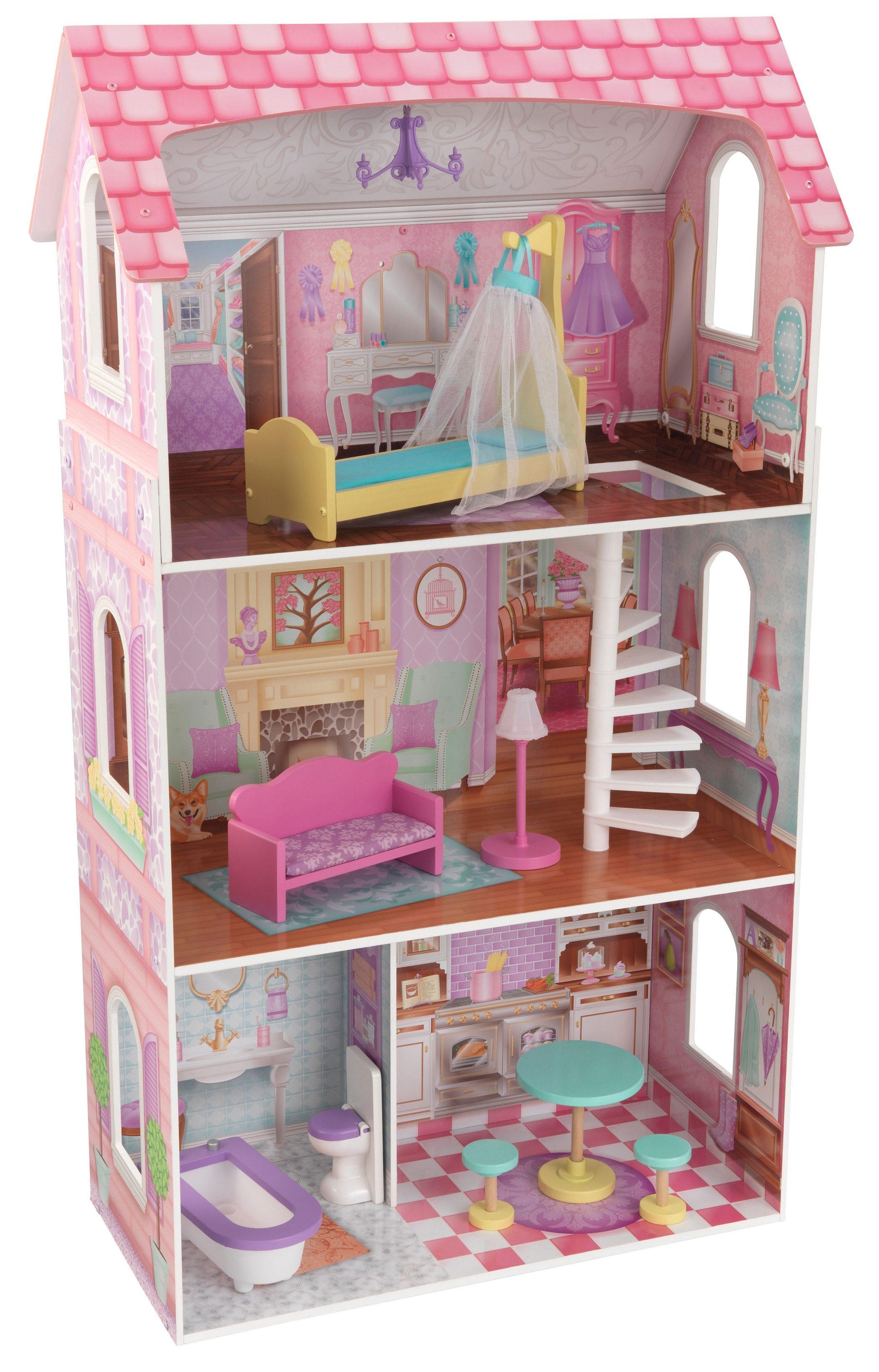 KidKraft® Puppenhaus inkl. Zubehör, »Penelope«