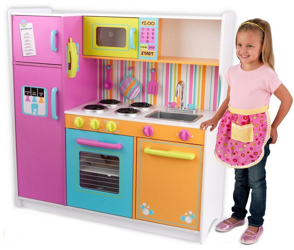 Kidkraft spielküche aus holz große helle küche deluxe