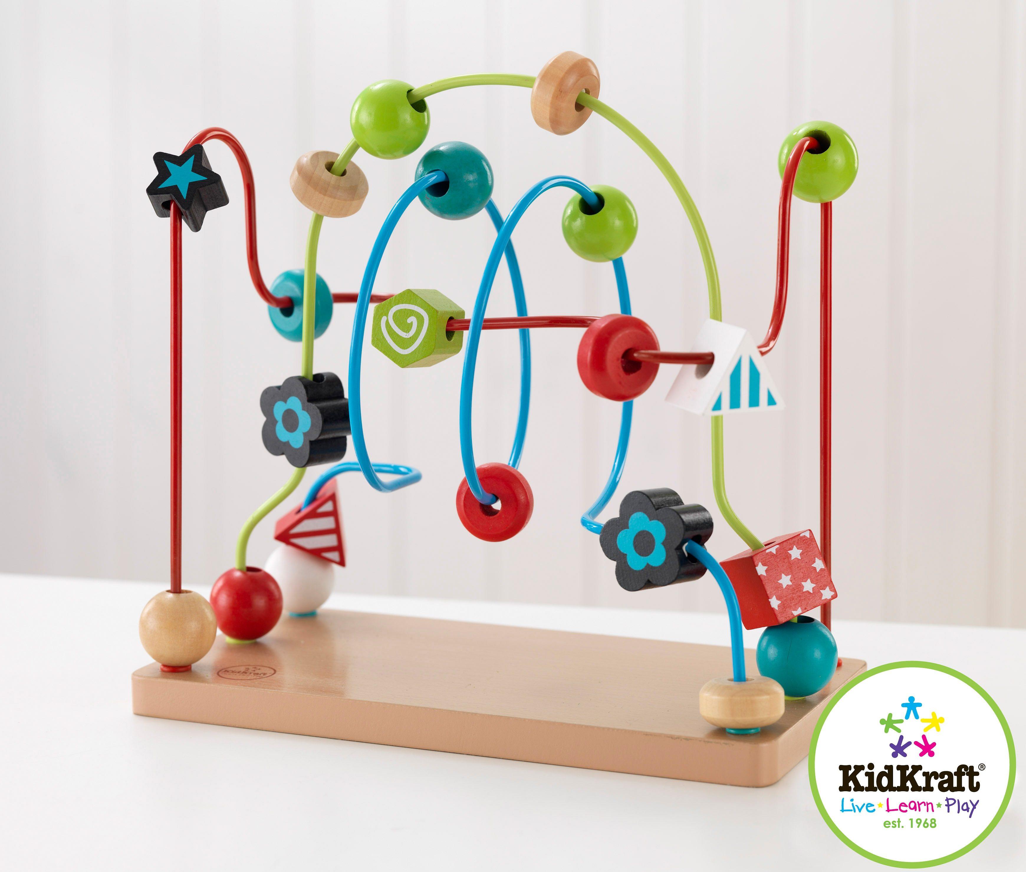KidKraft® Motorikschleife, »Holzperlenlabyrinth«