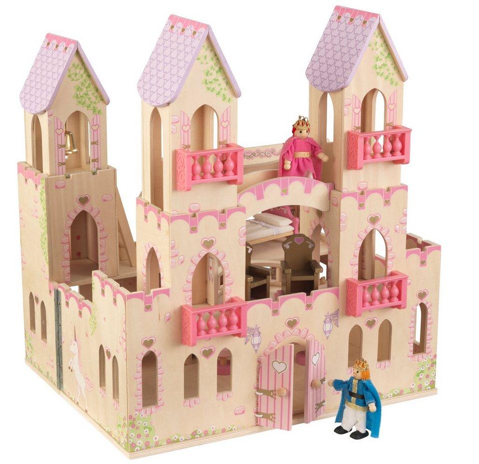 KidKraft® Puppenhaus inkl. Zubehör,  Prinzessinnen-Schloss  online kaufen