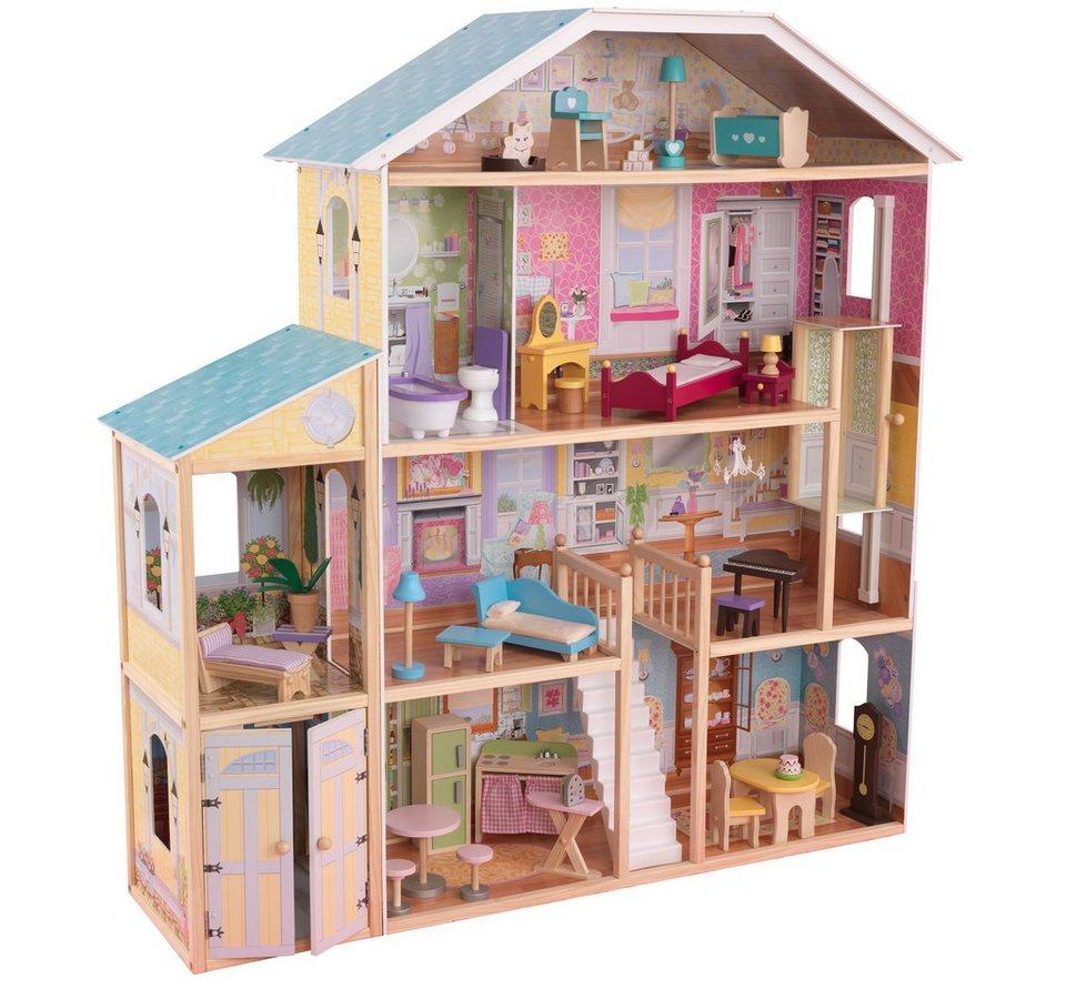 KidKraft® Puppenhaus inkl. Zubehör, »Majestätische Villa«