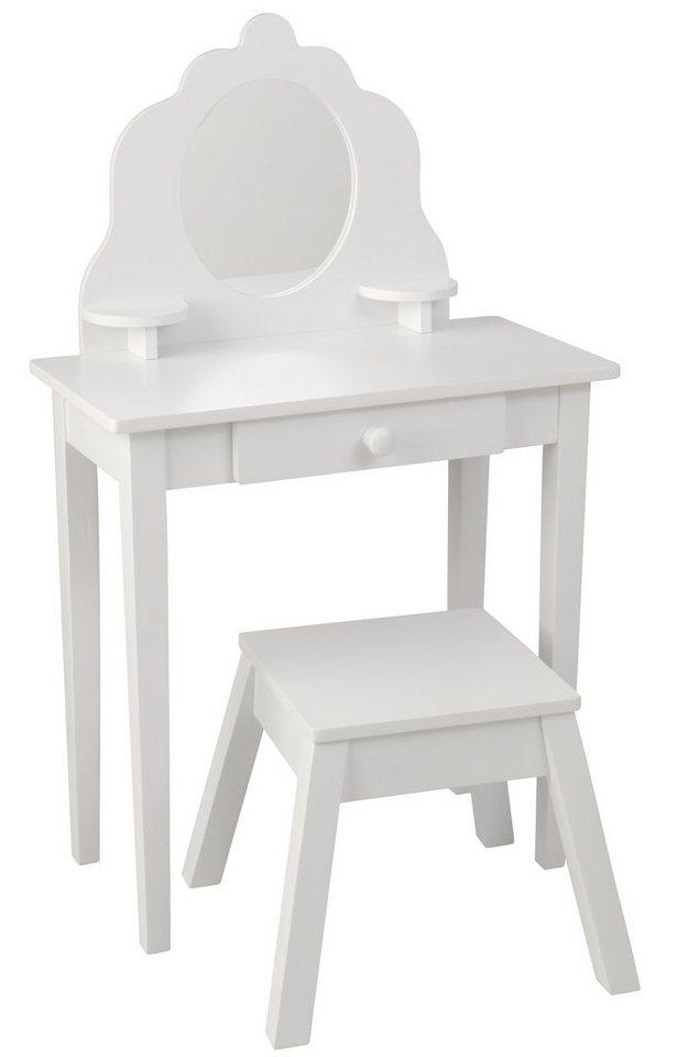 kidkraft frisierkommode mit hocker online kaufen otto. Black Bedroom Furniture Sets. Home Design Ideas
