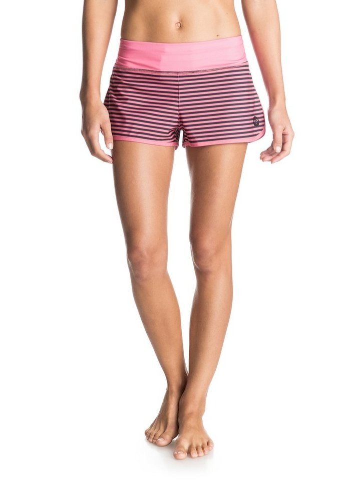 Roxy Boardshort »Endless Summer 2 Printed« in Pop pink stripes coal