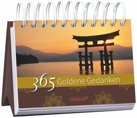 Kalender »365 Goldene Gedanken«