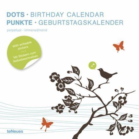 Kalender »Punkte. Geburtstagskalender«