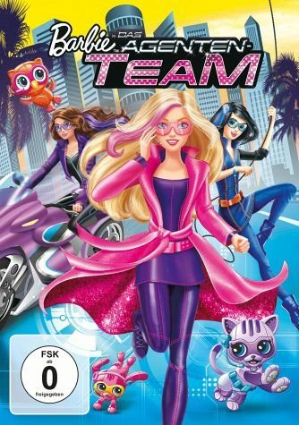DVD »Barbie in: Das Agenten-Team«