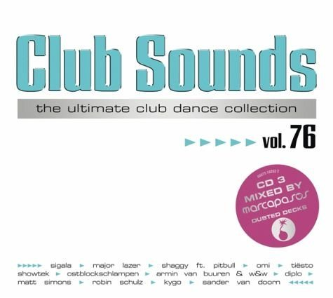 Audio CD »Diverse: Club Sounds Vol.76«