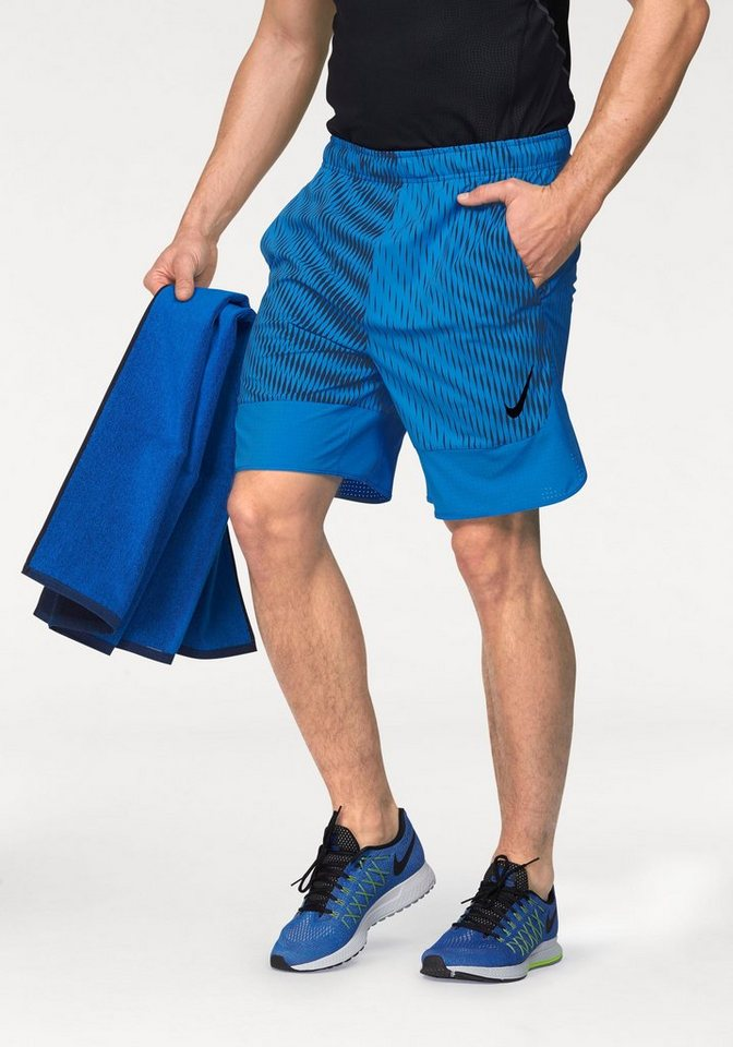 "Nike FLEX 8"" SHORT PRINT Shorts in Blau"