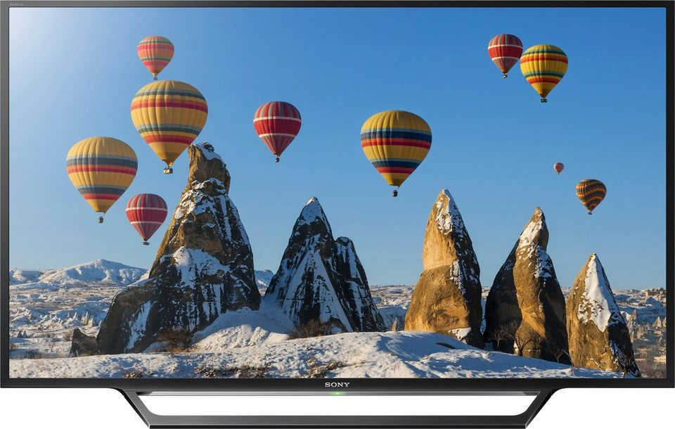 Sony BRAVIA KDL-32WD605, LED Fernseher, 80 cm (32 Zoll), HD-ready 720p, Smart-TV in schwarz