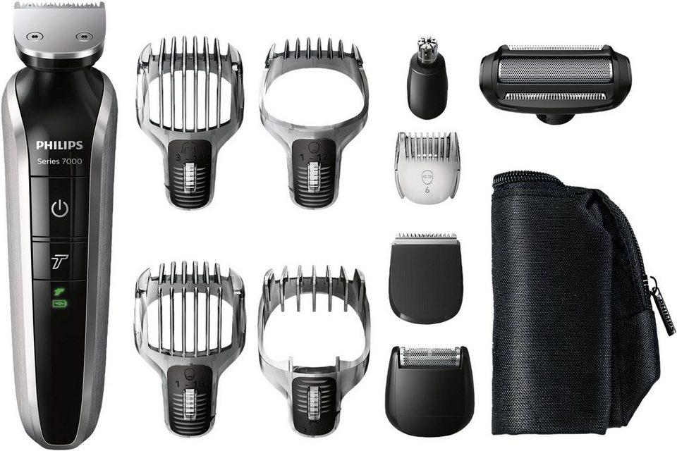 Philips Bart- und Haarschneider Set QG3380/16 Multigroom Pro in schwarz/silber