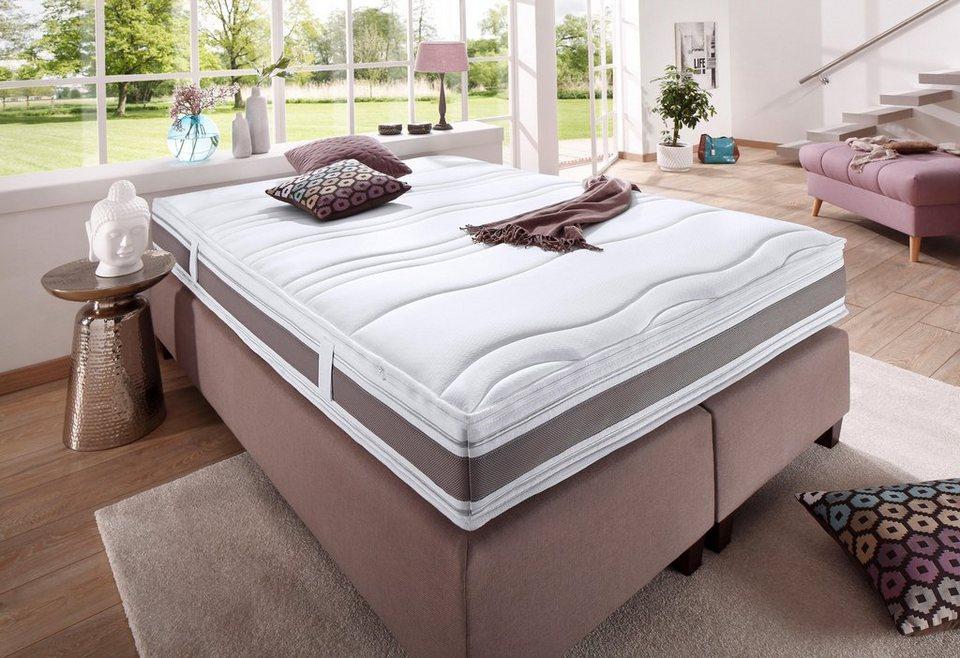 taschenfederkernmatratze punktoflex de luxe t f a n. Black Bedroom Furniture Sets. Home Design Ideas