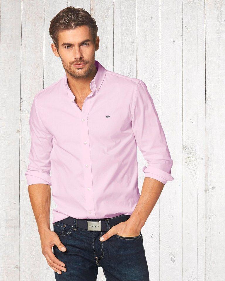 Lacoste Hemd in rosé