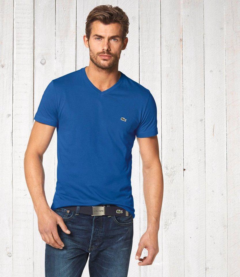 Lacoste T-Shirt in royalblau