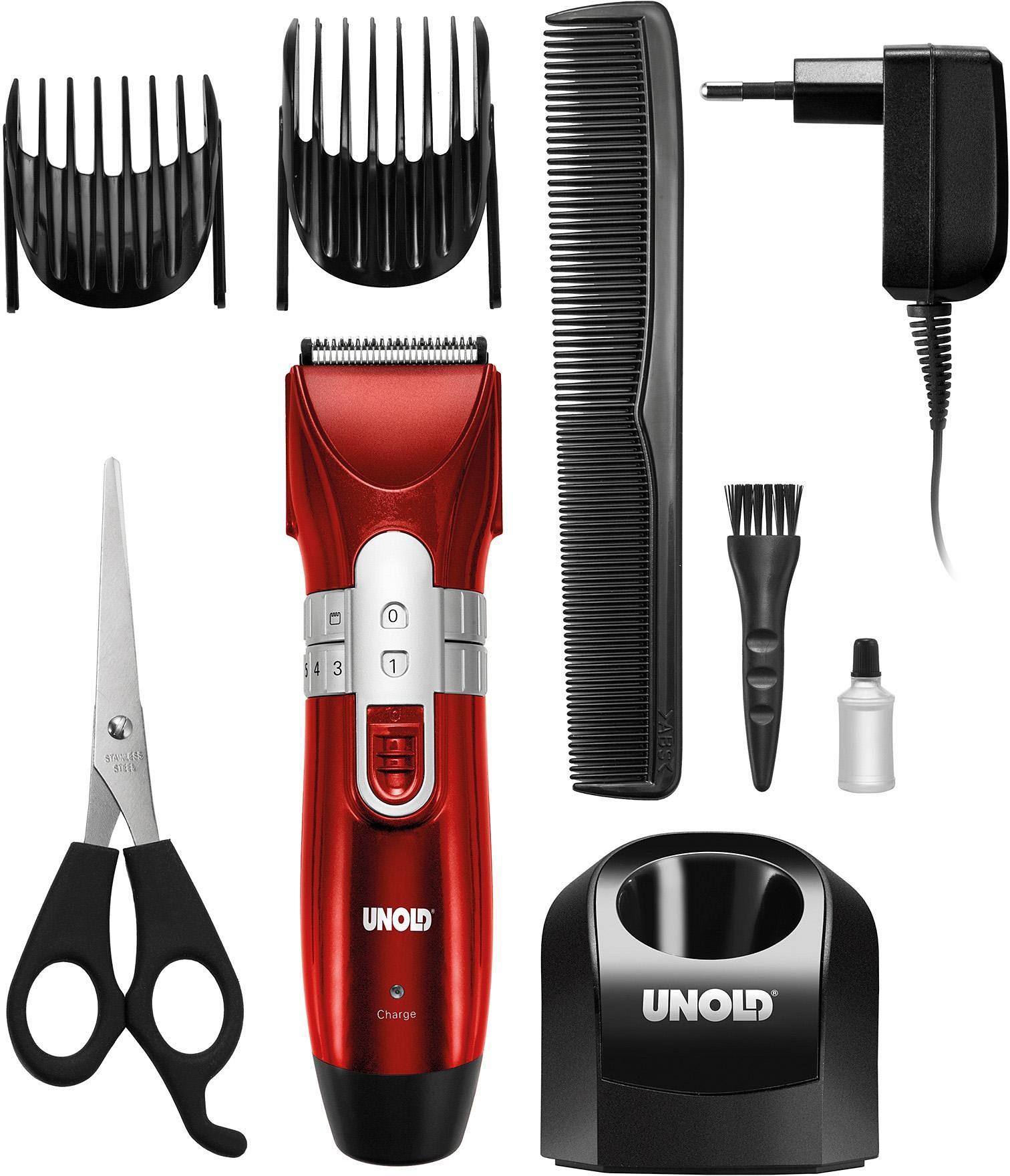 Unold Rasierer Hair Cutter 87813, Kabellos mit entnehmbarem Mignon NI-MH-Akku