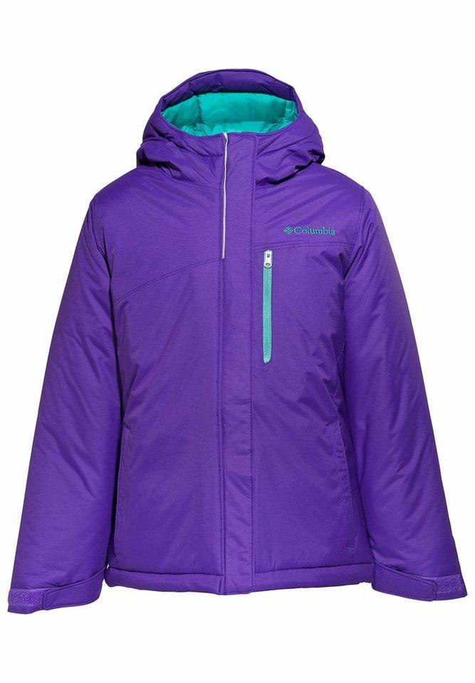 Columbia Outdoorjacke »Alpine Free Fall Jacket Girls« in lila