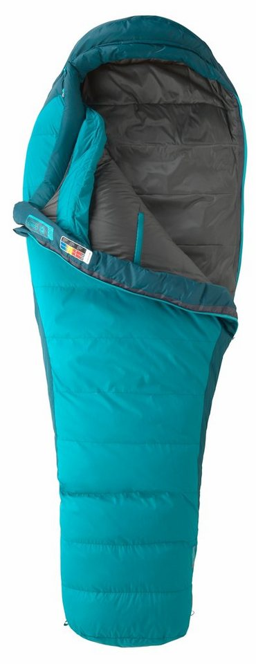 Marmot Schlafsack »Celestrum Sleeping Bag Regular Women« in petrol