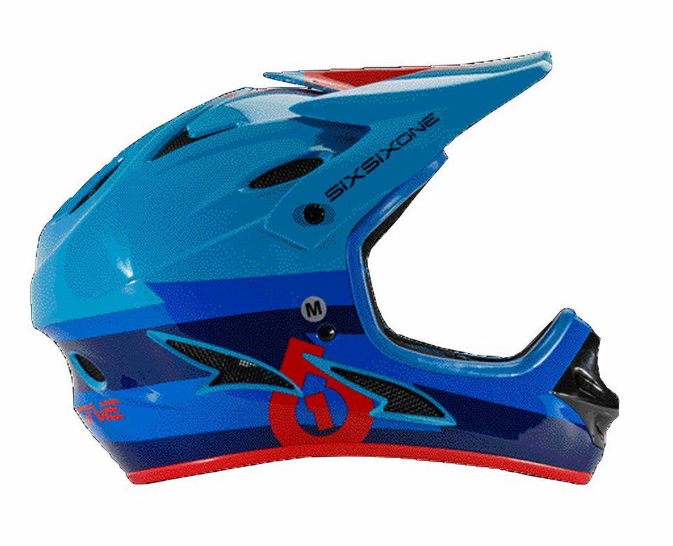 SixSixOne Fahrradhelm »Comp Helmet« in blau