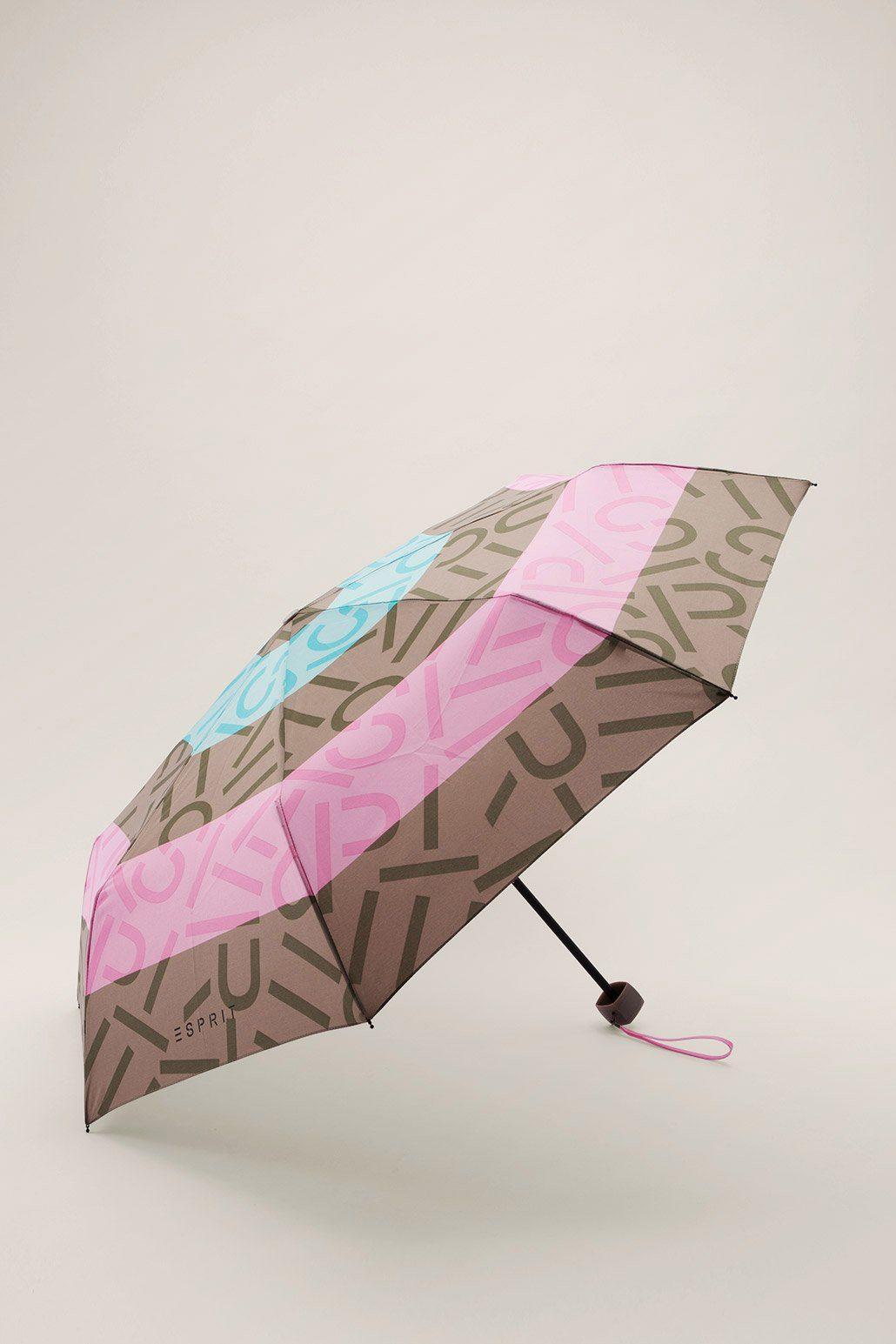 ESPRIT CASUAL 2 in 1: Regenschirm mit Tasche