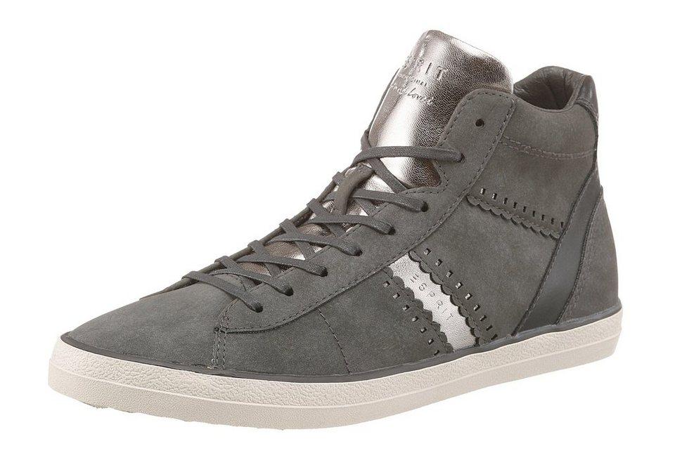 Esprit Sneaker in grau-silberfarben