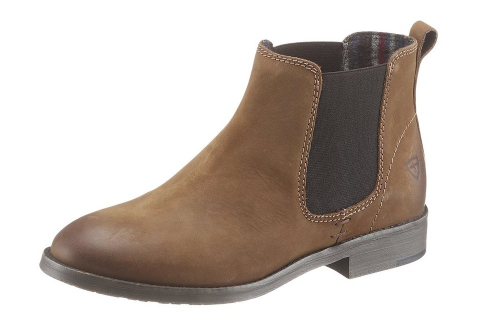 Tamaris Chelsea Boots in braun used